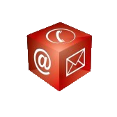contact-cube-phone-at-email
