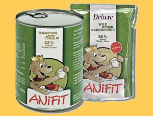 ANiFit Feuchtnahrung für Hunde