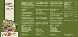 ANiFit Karotten-Pellets Deklaration