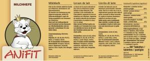 ANiFit Milchhefe Deklaration